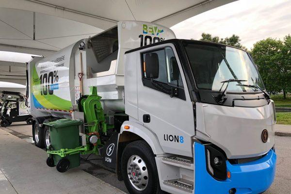 Image d'entête de l'article Boivin Électrique commercialise ses camions de matières résiduelles électriques