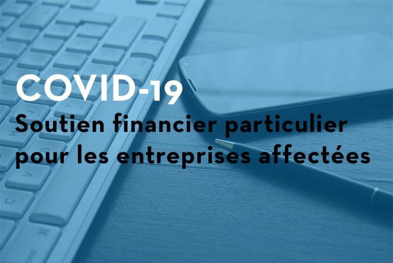 Image d'entête de la page COVID-19 – Aide financière spéciale