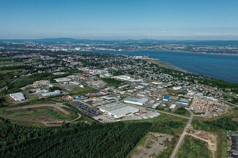 Image d'entête de l'article Le parc industriel de Lauzon s'impose comme un pôle de la distribution